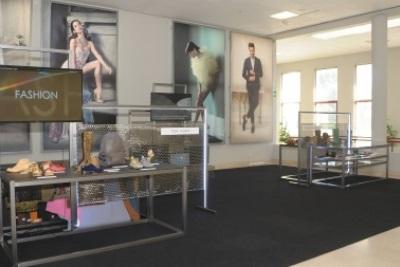 Exposição Step2footure: materiais, tecnologias Visite-nos