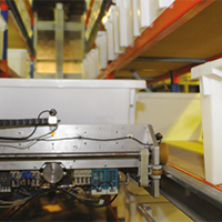 Sistema de logística otimiza processo de  armazenamento e distribuição dos materiais